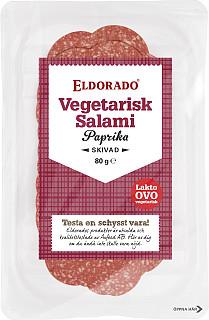 Eldorado Vegetarisk Salami Paprika