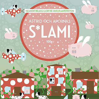 Astrid och Aporna Prickig Korv S*lami