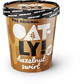 Oatly Hazelnut Swirl Ice Cream