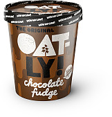 Oatly Chocolate Fudge Ice Cream
