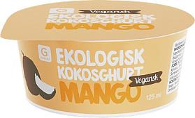 Garant Ekologisk kokosghurt mango