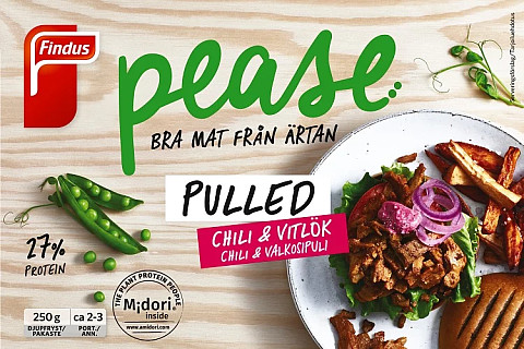 Findus Pulled Pease Chili & Vitlök