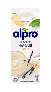 Alpro Mild & Creamy Plantgurt vanilj