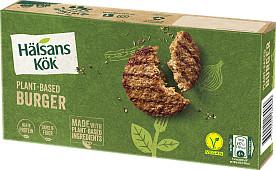 Hälsans Kök Veganska burgare