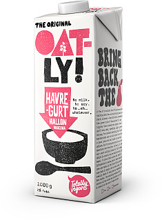 Oatly Havregurt Hallon